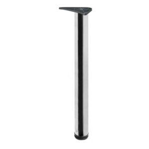 Noga za sto ∅60 x 710mm, HROM (sjaj)