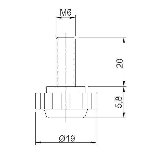 stopica-vijak-m6-fi19-zvezda-tehnicki-podaci