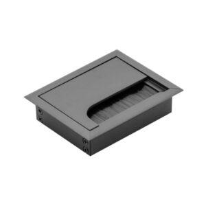 ukopavajuća rozetna 80x100 crna