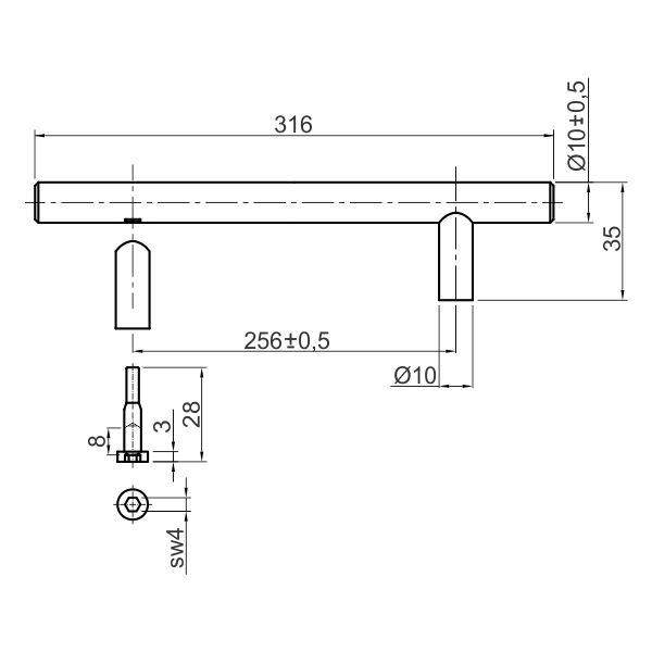 rucica-t-bar-256-tehnicki-podaci