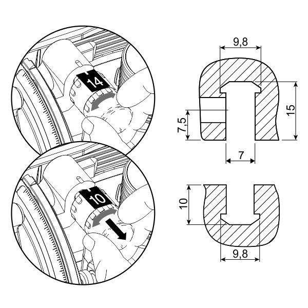 spojnica-clamex-medius-P-14-10-rasklopiva-tahnicki-podaci